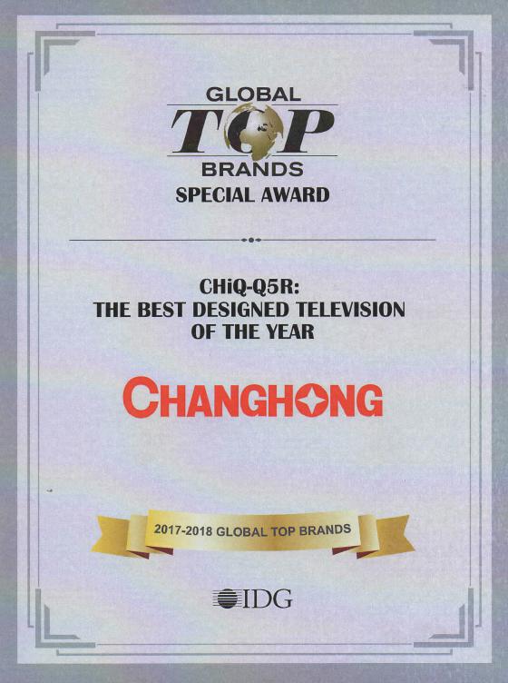 CHiQ-Q5R AWARD